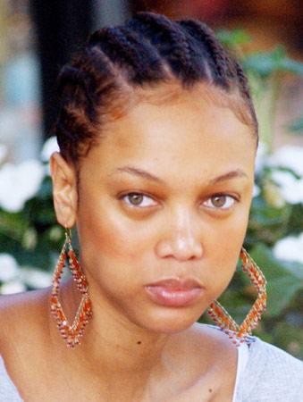 No Make Up Tyra Banks Beautyandtheblackwoman